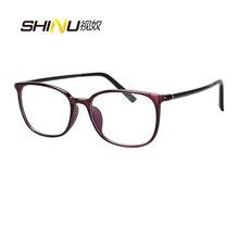 Leichte TR90 Brille Frauen Männer Presbyopie Hyperopie Bifokale Brillen Noline Progressive Multifokale Lesen GlassesSH071