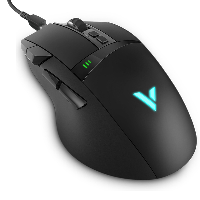 Gaming Mouse LED Magic Lights 11 programmable keys Wireless/Wired Modes Rechargeable Dota 2 Computer Gamer Mouse