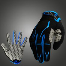 Coolchange Bike Glove Full Finger Black Luva Bike Cycling Gloves for Men and Women