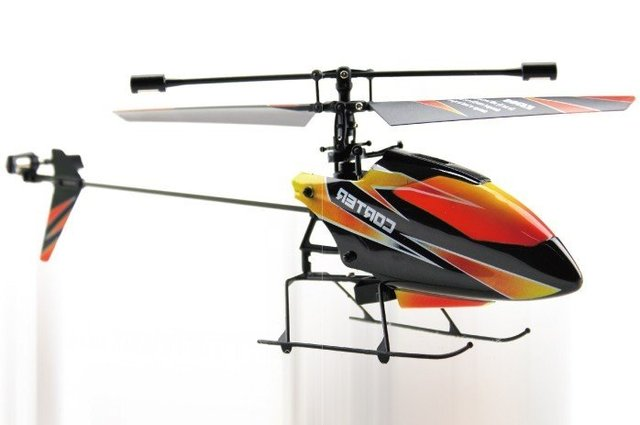 Free shipping 2.4G 4CH Single Blade Gyro RC MINI Helicopter With LCD 2 Batteries Outdoor V911