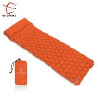 Hitorhike Sleeping Pad Camping Mat With Pillow Air Mattress Inflatable Cushion Sleeping Mat Fast Filling Air