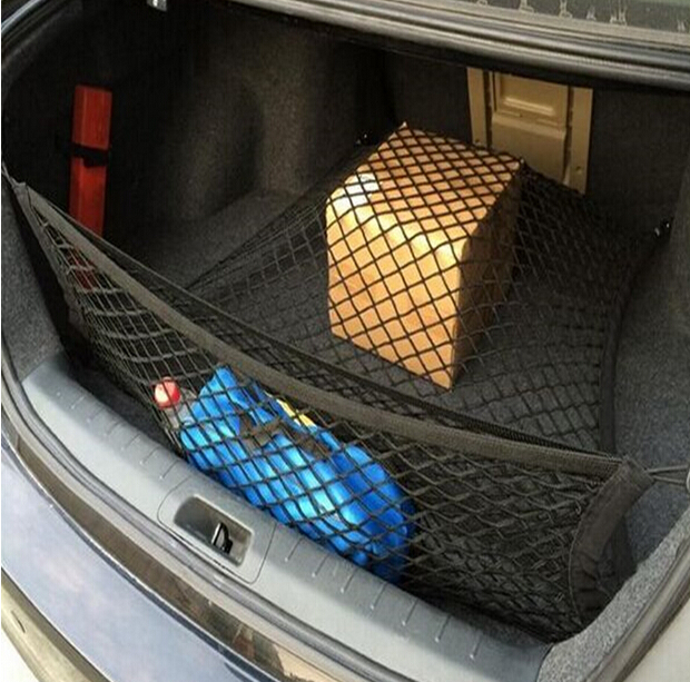 Double Nylon Car Cargo Trunk Storage Organizer Net Fit For Audi A3 A4 A5 A6 Q5 Q7 R8 S4 S5FOR