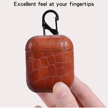 For Air Pods Case Leather Cover For AirPods Wireless Bluetooth Earphone Protective Cases For Air Pods Skin For Apple Fundas