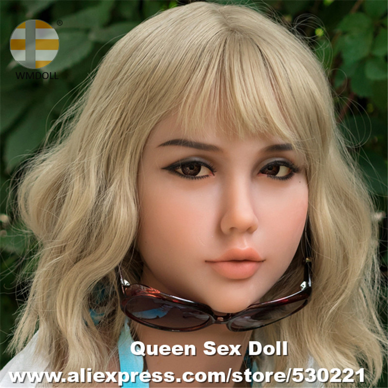 WMDOLL Top Quality 233 Real Oral Sex Head Full Silicone Sex Doll Heads for Realistic Adult