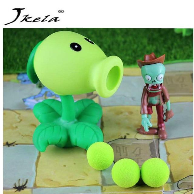 [Yamala] Växter vs Zombies Leksak Växter Zombies PVC Åtgärd - Toy figuriner
