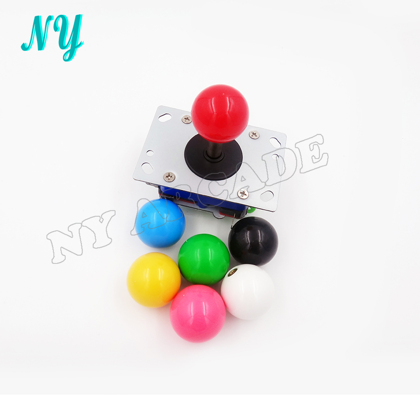 Classic 2/4/8 way Arcade stick Game Ball Pick a color ...