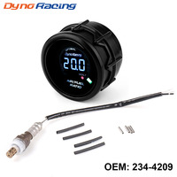 Dynoracing 52mm Smoke Air Fuel Ratio Gauge Narrowband O2 Oxygen Sensor For Honda ACURA INTEGRA ASUNA OEM:234 4209 2344209