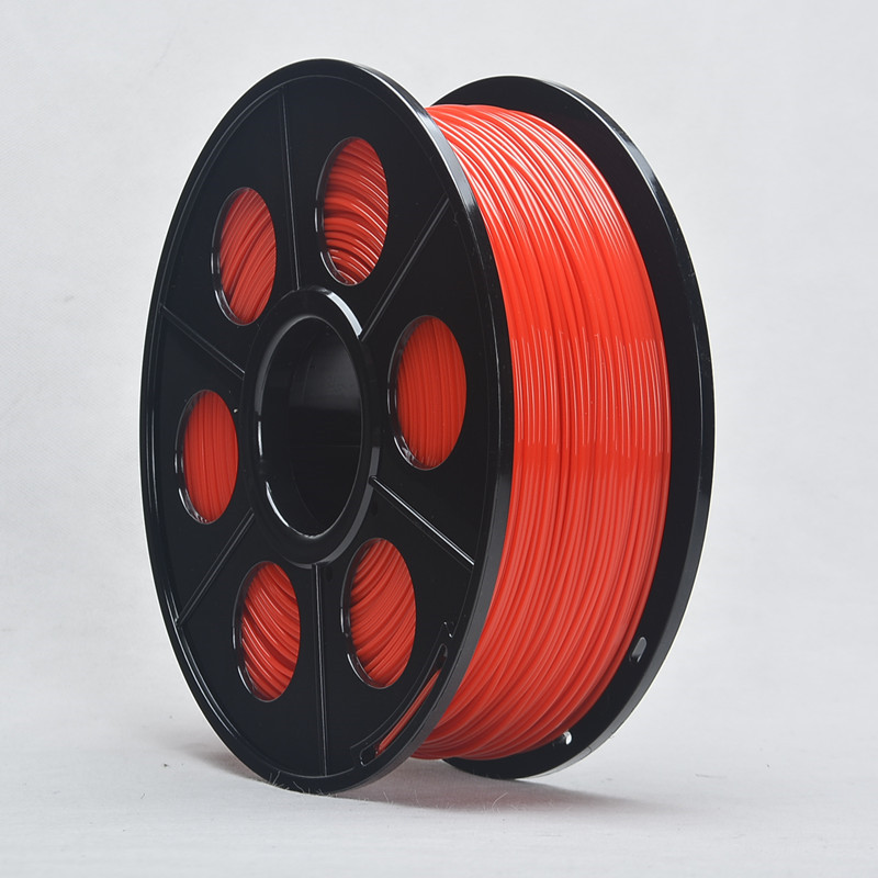 ABS Filament Red 1KG 3D Printing Materials 1.75mm For 3D Printer Pen Dimensional Accuracy +/- 0.02 mm 1 kg Spool No Bubbles abs luminous green filaments 1 75mm 1kg spool wanhao 3d printer