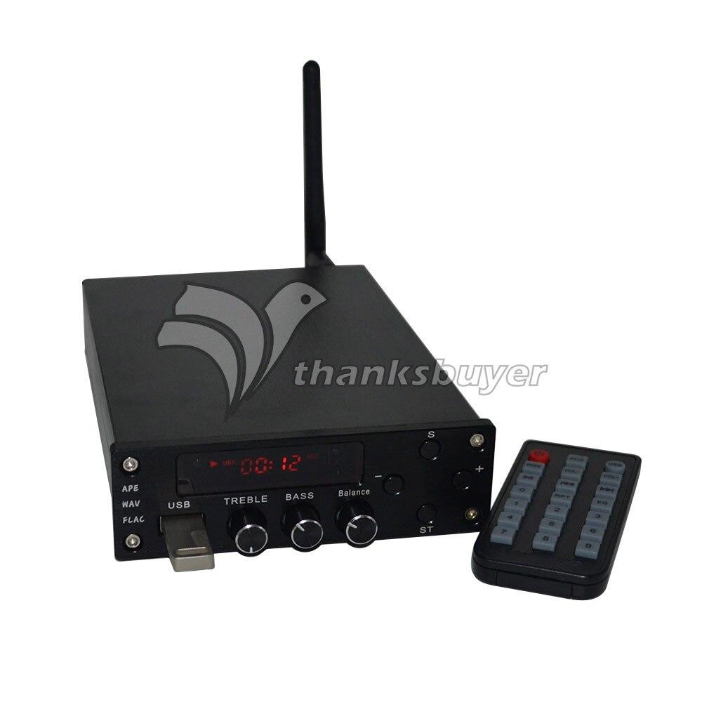 Digital Amplificador De Potência De ALTA FIDELIDADE Do Bluetooth 4.0 2x70 W AMPLIFICADOR De Áudio Dual Channel + Alimentação ZL T10