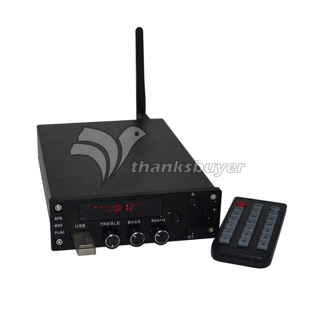 Numérique HIFI Amplificateur de Puissance Bluetooth 4.0 2x70 W Audio AMP Double Canal + Alimentation ZL T10