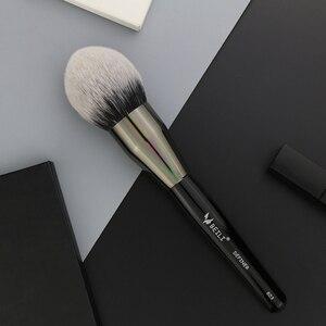 Image 2 - BEILI 1 adet sentetik saç tek büyük toz Fan krem vakıf Stippling kaplama tek makyaj fırçaları
