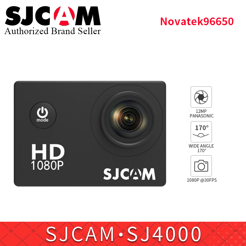Original SJCAM SJ4000 Basic Action Camera Waterproof 1080P Helmet Camera HD 2.0 Sports DV video Camera sj cam mini camcorder