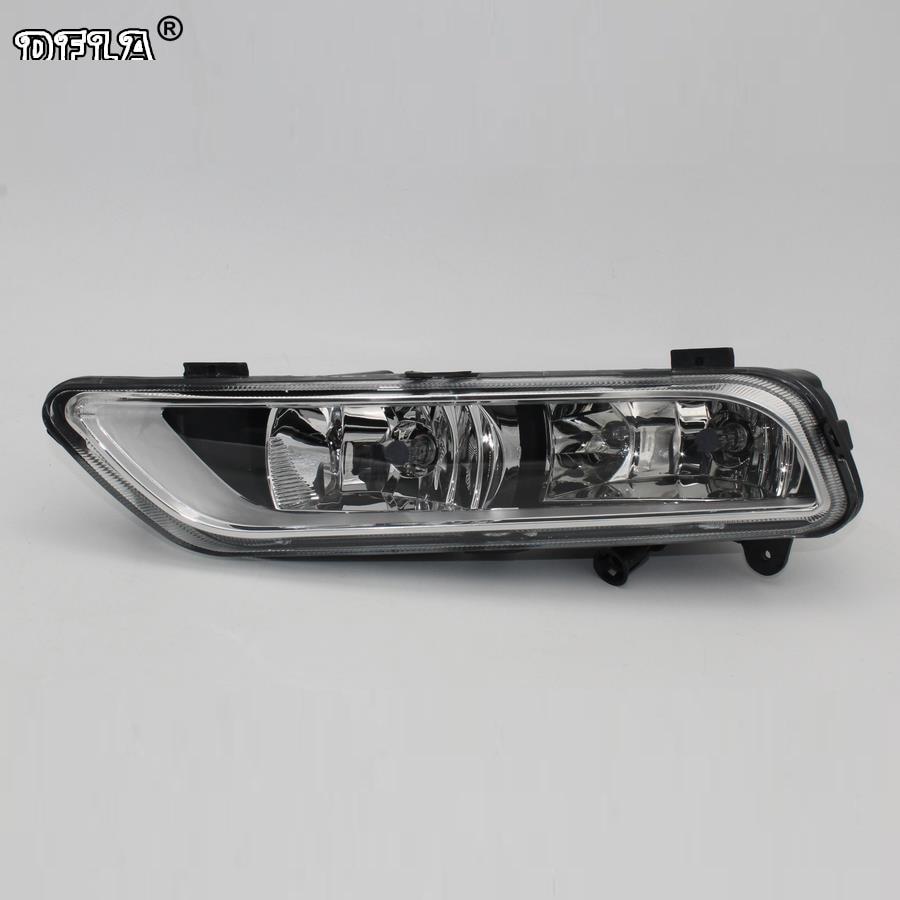 Left Side Car Light For VW Passat B7 2011 2012 2013 2014 2015 Car-Styling Front Halogen Fog Lamp Fog Light oem 1pcs original car front left fog light assembly suitable 3g0941661g f vw passat b8 2016 3g0 941 661 g
