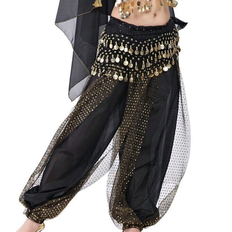 Cheap Belly Dance Pants Wanita Celana Harem Tari Perut Sifon Payet Hoki Longgar Kesalahan Besar Celana Untuk 12 Color