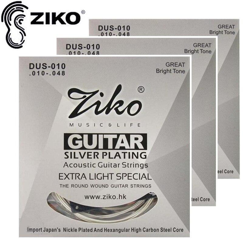 ZIKO 010-048 DUS-010 어쿠스틱 기타 현악기 기타 악기 도매 액세서리 악세사리 3 세트 / 많은