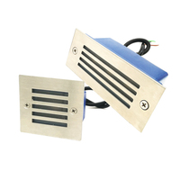 LED Stair Light Wall Corner Lamp 2W AC85 260V Warm White Red Green Blue Yellow For