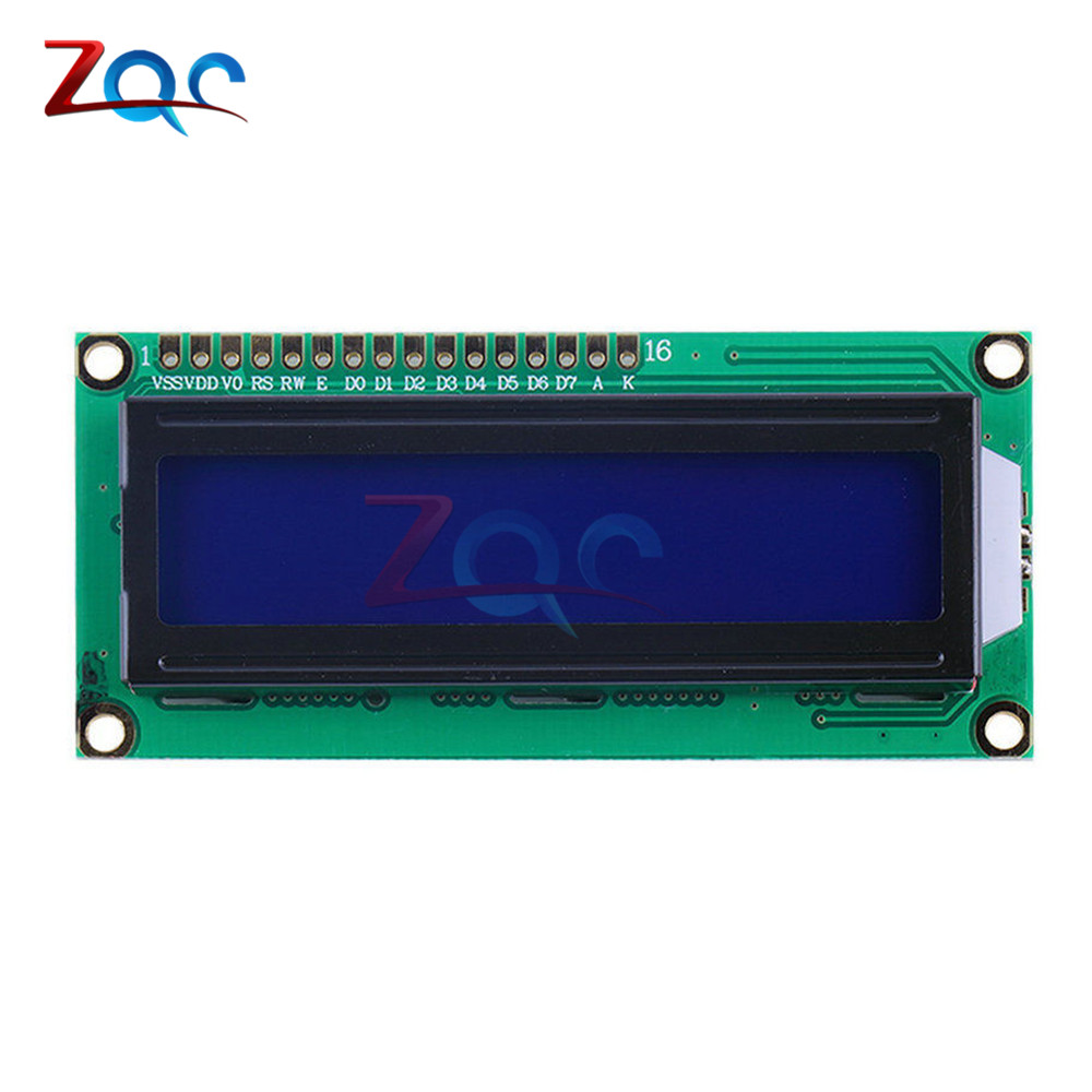 IIC/I2C 1602 LCD Display Module LCD-1602 I2C Yellow Blue Display Blacklight 5V For Arduino 0 96 inch yellow blue dual color oled display 12864 lcd screen module spi iic 3 3 5v interface