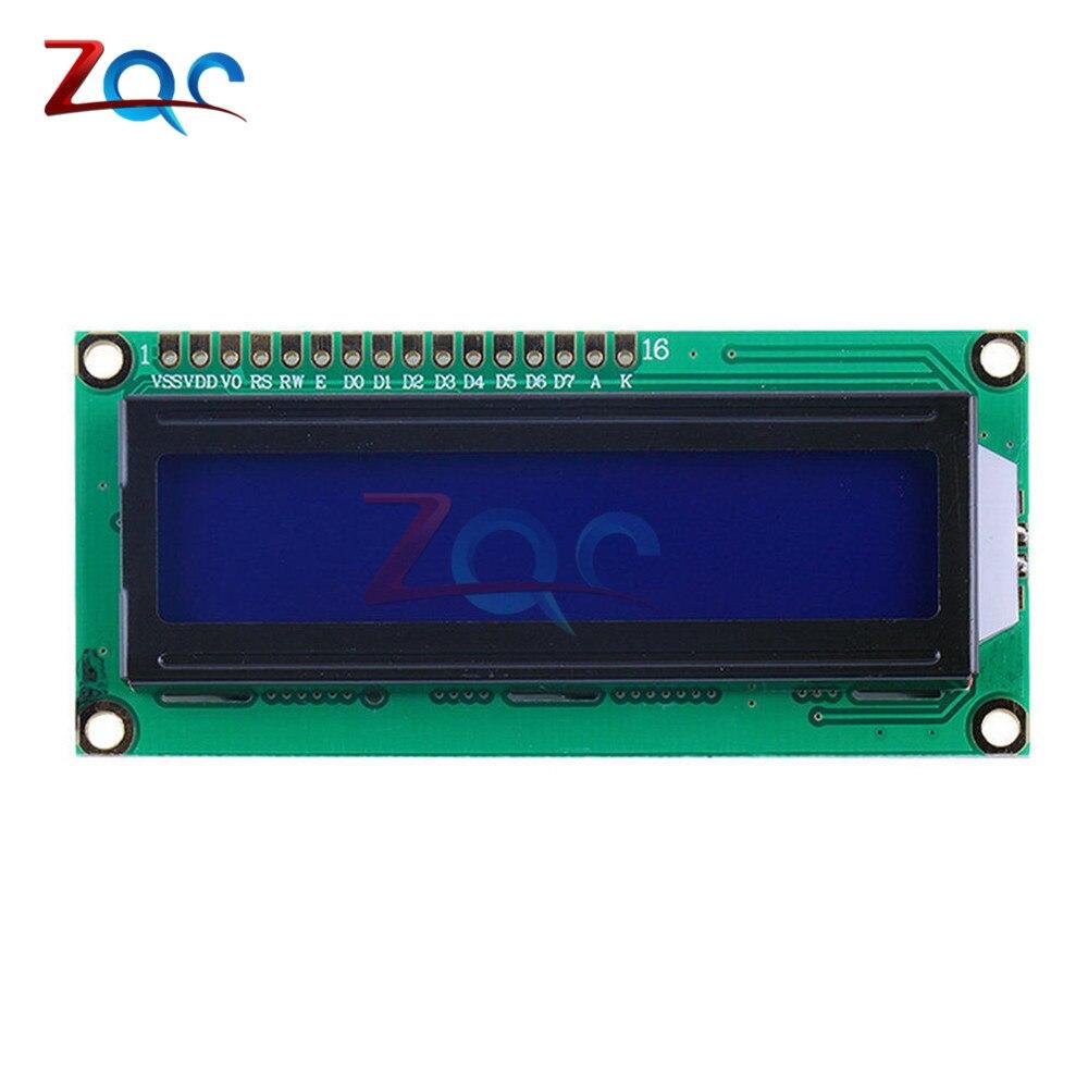 IIC/I2C 1602 LCD Display Module LCD-1602 I2C Yellow Blue Display Blacklight 5V For Arduino