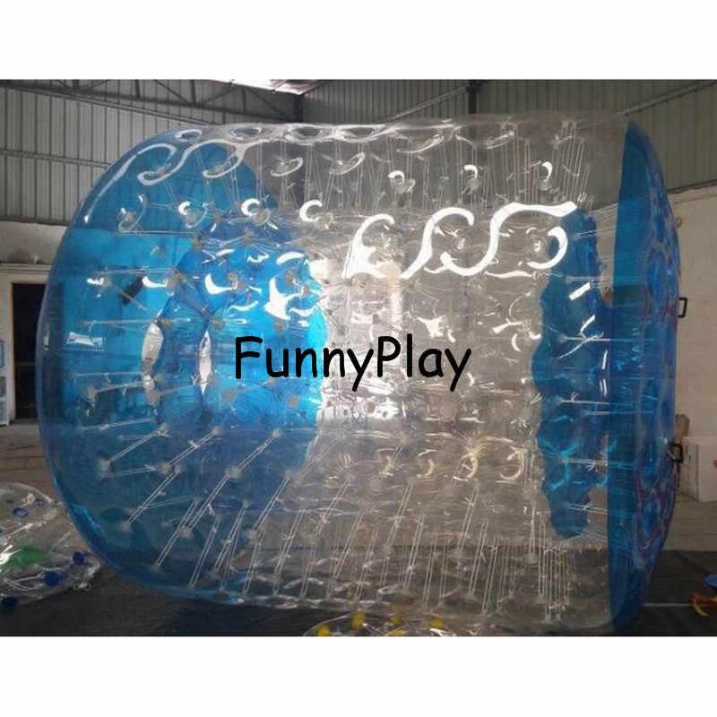 Bola do rolo do aqua do pvc à venda, bola inflável colorida da caminhada da água, fonte da bola de rolamento do jardim, rolos infláveis da água de zorbs