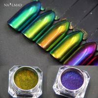 1g Chameleon Powders Multichrome Nail Powder Color Changing Nail Flecks Nail Glitters Shimmer Glitter Dust