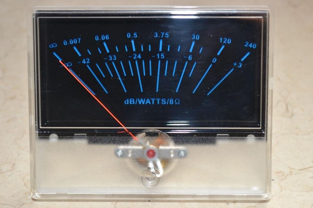 P-97 VU panel meter DB Level Header Audio preamp With Back light audio power amplifier panel vu meter db level led header driver board module diy