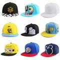 Новые самых популярных девушка мальчики хип-хоп snapback шляпы вышивка персонаж аниме спортивный стиль бейсболка женщины мужчины марка gorras шляпа