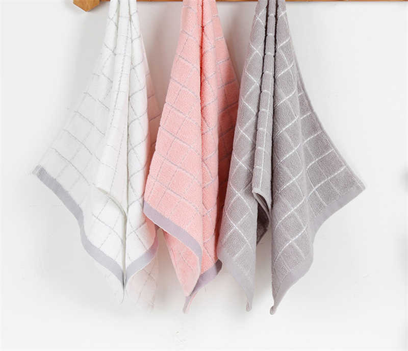 34x75 см 100% хлопок плотная Цвет Cube плед полотенца мочалкой абсорбент ванная комната семья ручной полотенце для взрослых
