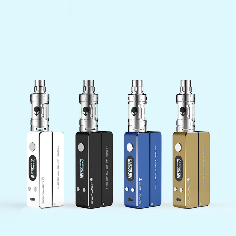 Electronic Cigarette kit Vape Pen Big Storm Box Mod Hookah Shisha Pen 80w Power Dry Herble Vaporizer E-cigarette Cheap