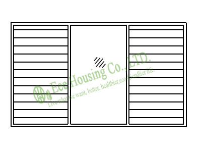 Aluminum Vent Louvers / Shutters, Aluminum Glass Louvered Window & Door Factory In Chia, Aluminum Jalousie Louver