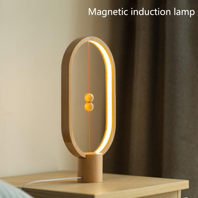 Vusum Led Table Lamp Suspension Balance Lamp Night Light Bedroom