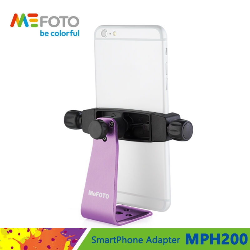 MeFOTO SideKick360 Plus MPH200 SmartPhone Adapter Mobile Phone Holder Lightweight Bracket For Mini Tripod Free Shipping