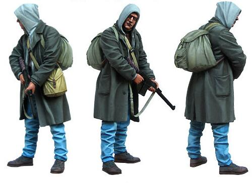 1/35 Resin Figure Stalker 1pc Model Kits