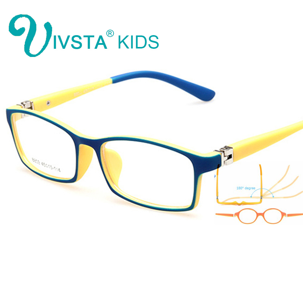 IVSTA Children Glasses for Children TR Flexible Glasses Frames for Kids Glasses Frames Boys for Girls Myopia Optical Amblyopia