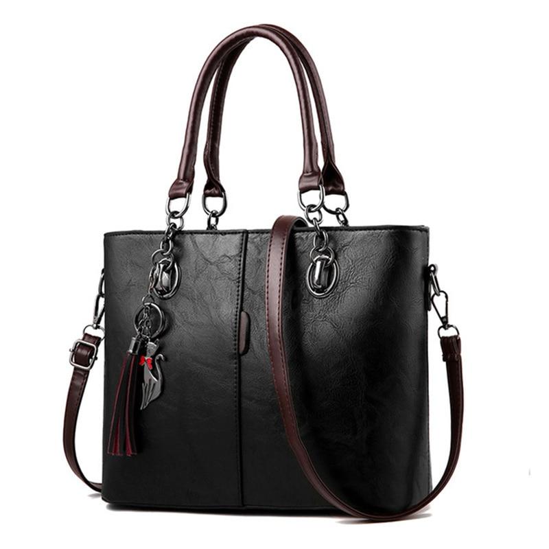 2018 Solid Shoulder Bags Leather Handbag Luxury ladies Handbags Women Bags Designer Crossbody bags For Women bolsa feminina 2018 Solid Shoulder Bags Leather Handbag Luxury ladies Handbags Women Bags Designer Crossbody bags For Women bolsa feminina