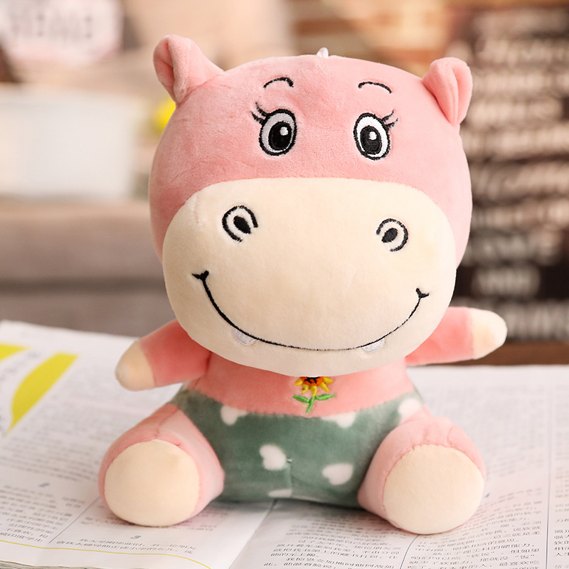 Hot Plush Baby Toys Stuffed Animal Kawaii Elephant Pig Hippo toy Kids Appease Sleeping Doll Room Decor Gift For Children Friends in Stuffed Plush Animals from Toys Hobbies