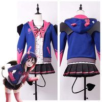 LoveLive! Love Live New UR Nico Yazawa Little Demon Cosplay Costume Uniform Halloween Party Full Set Custom Made