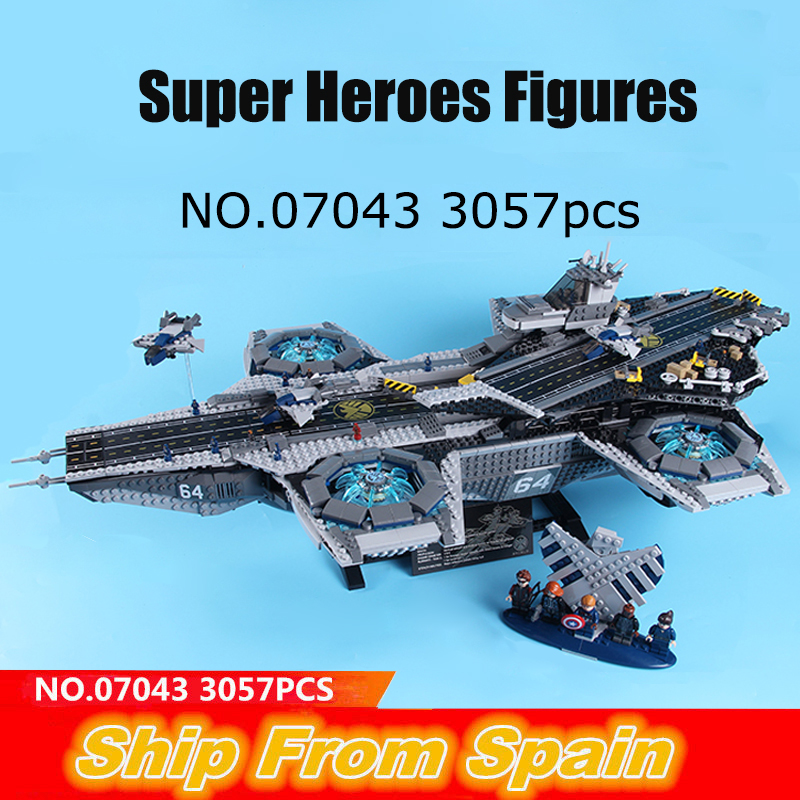 05007 07043 ship from Spain Millenniumed Super Heroes Figure Falconed building blocks star 75105 76042 war