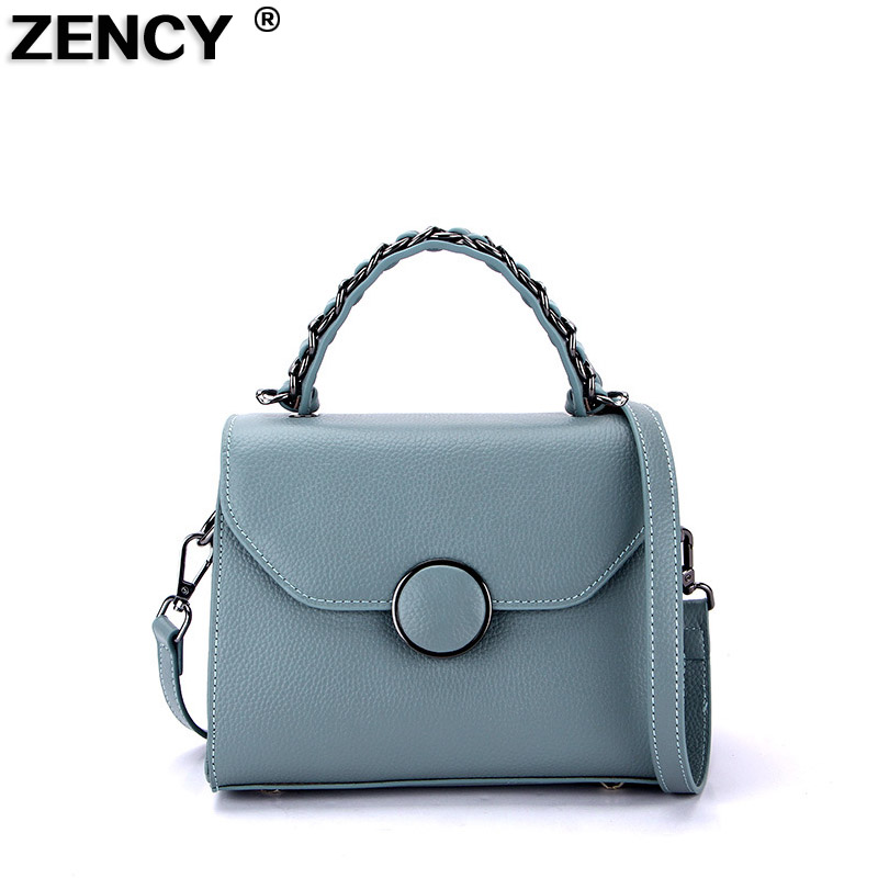 Designer Famous Brand 100% Real Genuine Cow Leather Women Small Shoulder Tote Handbag Ladies Crossbody Messenger Bag Hobo Blso