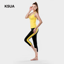 Elastic Waist Nylon Yoga Sport Athletic Leggings Fitness Trousers For Women Women's Yoga Pants Ropa Deportiva Mujer Gym Trousers