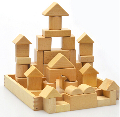 Wooden Kids Building Blocks