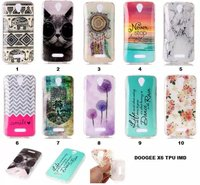 Cartoon Painting case For Doogee X6 Soft TPU Protective back cover for Doogee X6 New Silicone   Mobile     phone     housing   shell