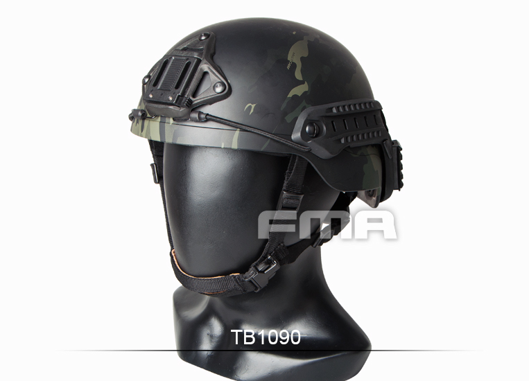 FMA Sentry Helmet (XP) MultiCam Black TB1090 fma maritime tactical helmet 1 1 aramid fiber version helmet fg m l