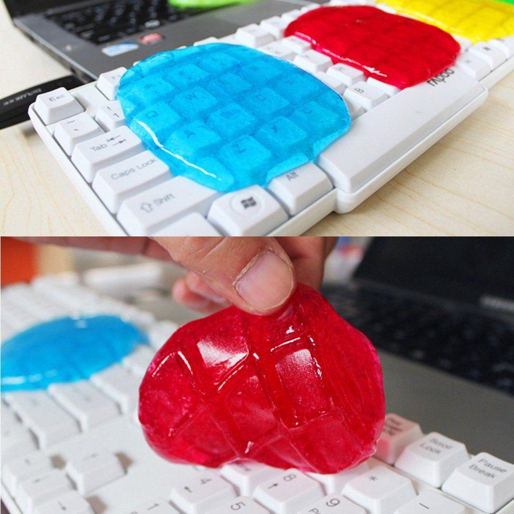 Inteligente Cyber teclado Super Cleaner polvo mágico barro Limpieza compuesto slimy gel