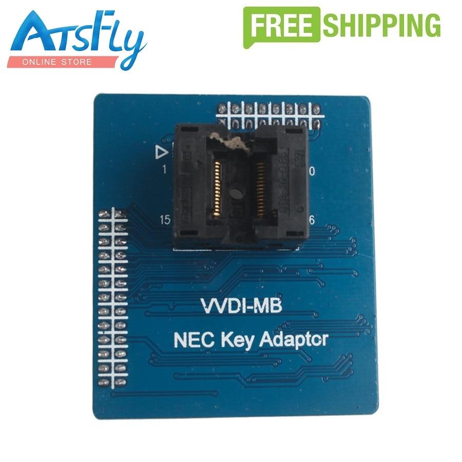 Free shipping VVDI MB NEC Key Adaptor монитор nec 30 multisync pa302w sv2 pa302w sv2