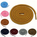 "54""/ 140cm Round Shoelaces Stripped Shoe Laces Martin Boots Shoestrings Ropes 11 Colors"
