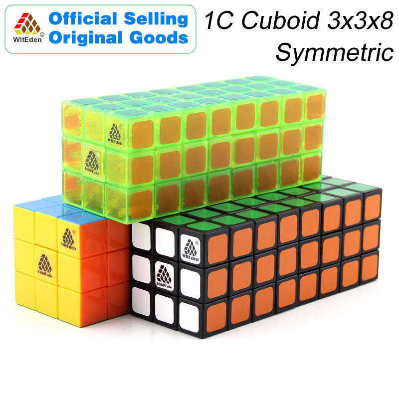 WitEden 3x3x8 Cube magique cuboïde symétrique 1C 338 Cubo Magico professionnel vitesse néo Cube Puzzle Kostka Antistress Fidget jouets