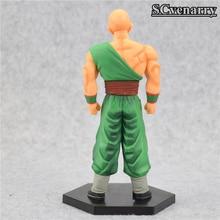 DBZ Tenshinhan Three-Eyed Clan Goku Rival Powerful Action Figure 15cm