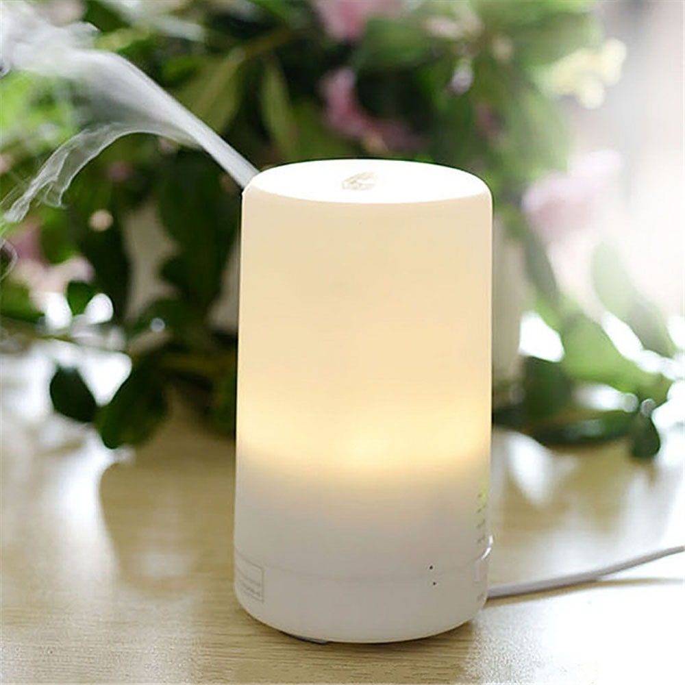 Hot Mini USB Ultrasonic Air Humidifier LED Light Essential Oil Aroma Diffuser Aromatherapy Home Office Mist Maker Air Purifier