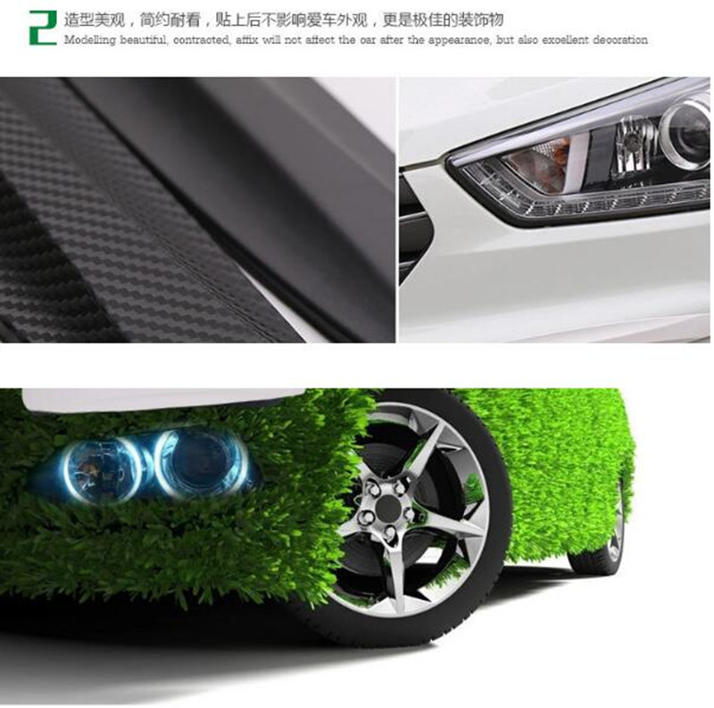 Car Styling Bumper Anti Collision Strip Stickers For