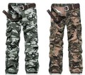 6 Sizes men military camouflage pants multi pockets army trousers for wild Field operation pants